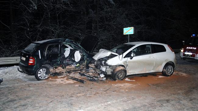 PODKARPACIE: śmierć na zaśnieżonej drodze