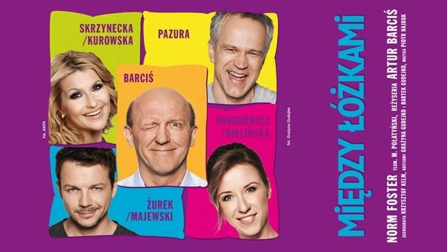 """Wygraj bilet na spektakl w reżyserii Artura Barcisia """"Między Łóżkami"""""""