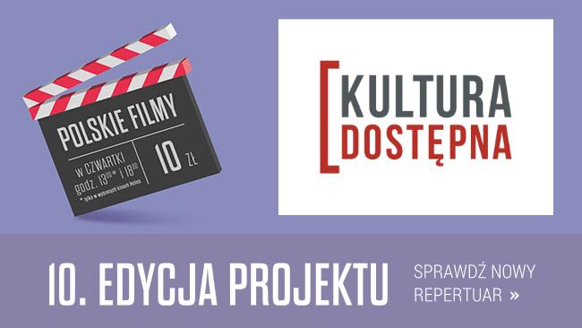"""""""Kultura Dostępna"""" w czerwcu, czyli najlepsze polskie kino Heliosie!"""