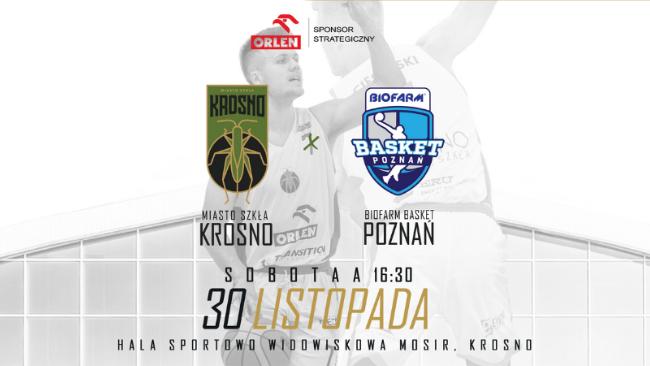 Koszykarze z Krosna zmierzą się z zespołem Biofarm Basket