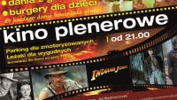 Kino Plenerowe i Jaś Burger w Rymanowie [2.07]