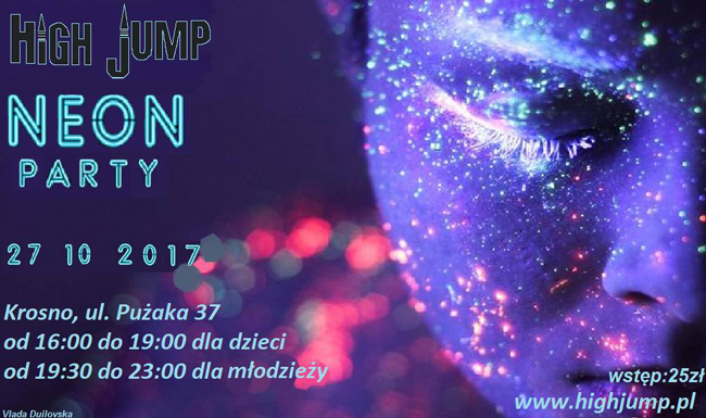 """27.10: """"NEON PARTY HIGH JUMP"""""""