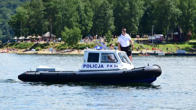 35-latek utonął w Jeziorze Solińskim
