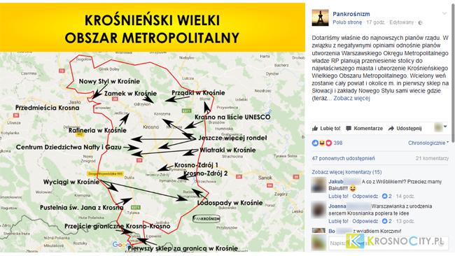 Hello Krosno: Krośnieński Obszar Metropolitalny
