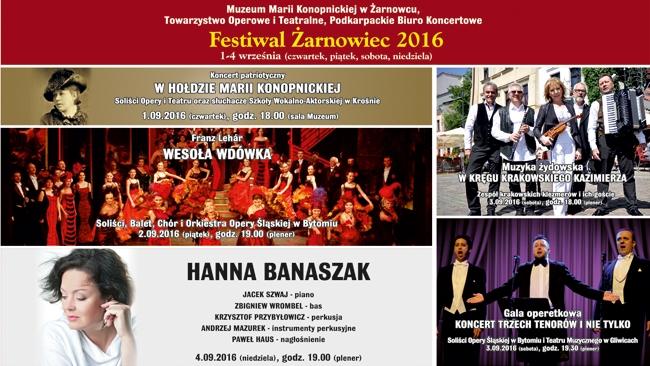 FESTIWAL - ŻARNOWIEC 2016