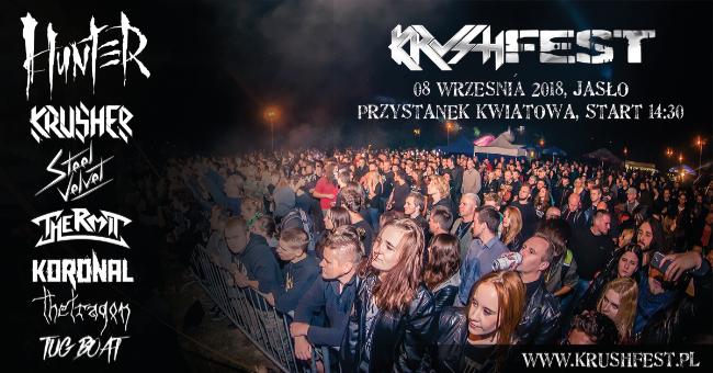 X Festiwal Muzyczny KRUSHFEST 2018