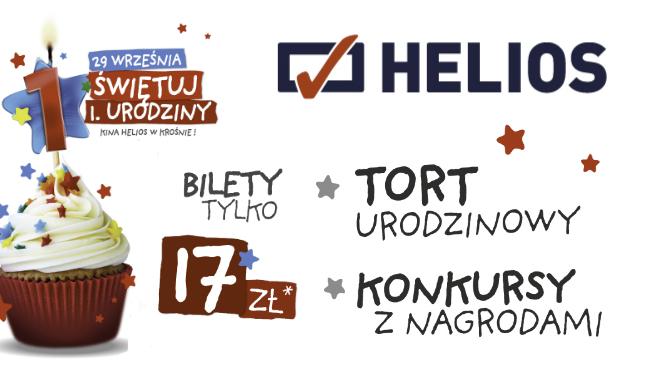 Pierwsze urodziny kina Helios w Krośnie!