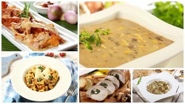 Grzyby na 5 sposobów - przepisy na jesienne dania