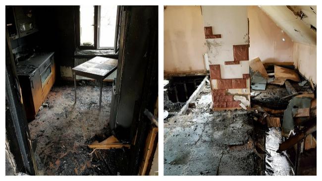 Ogień zabrał im wszystko, potrzebna pomoc dla rodziny [ZDJĘCIA]