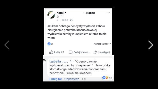 """Hello Krosno: """"wydzieracie zemby""""?"""