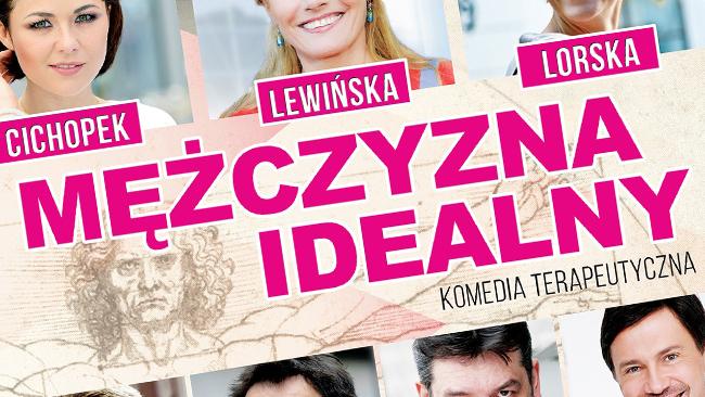 """Wygraj zaproszenie na spektakl """"Mężczyzna idealny"""" w Krośnie"""