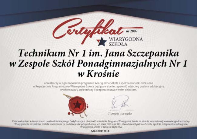 """Wiarygodny """"Szczepanik"""""""