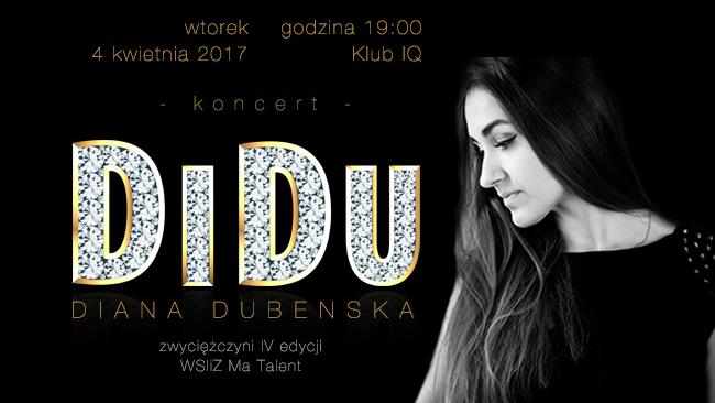 Koncert DiDu w rzeszowskim klubie IQ