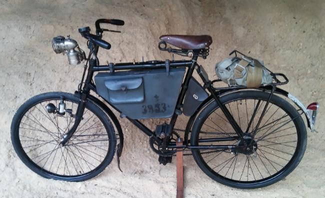 Wystawa zabytkowych rowerów w VIVO! Krosno