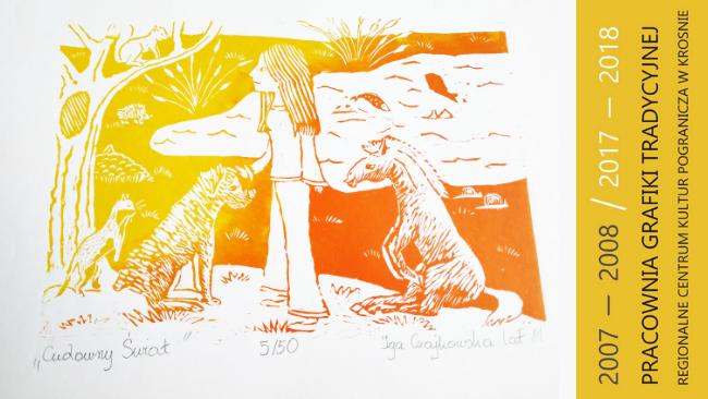 Wystawa i finisaż wystawy z okazji 10-lecia Pracowni Grafiki Tradycyjnej w RCKP