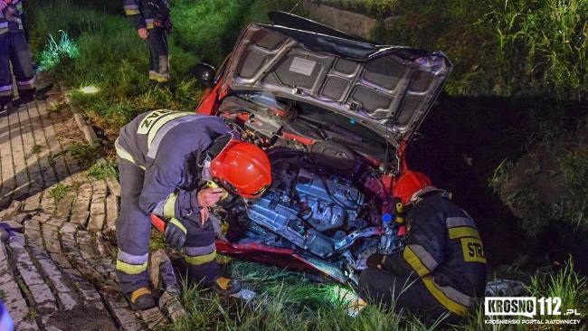 20-letni kierowca był pijany