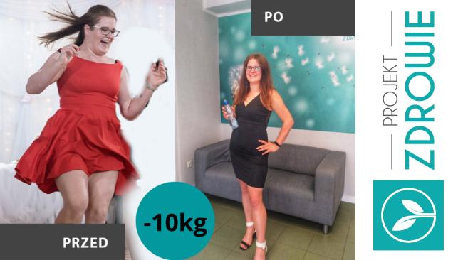 Pani Jadzia schudła 10kg w Projekt Zdrowie!