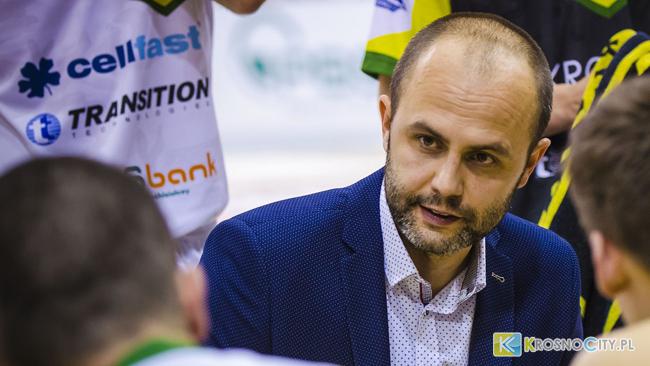 Michał Baran zrezygnował z funkcji trenera Miasta Szkła Krosno