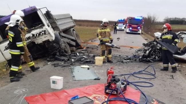 Tragiczny wypadek w Stobiernej. Zginął 50-latek