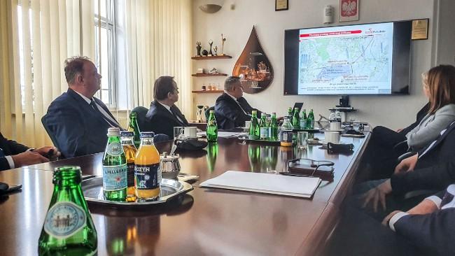 W Jedliczu rozmawiano o nowej drodze do Orlen Południe. To strategiczna inwestycja na Podkarpaciu