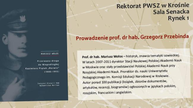 """PWSZ zaprasza na wykład pt. """"Bolesław Wieniawa-Długoszowski. Prawda i mity"""""""