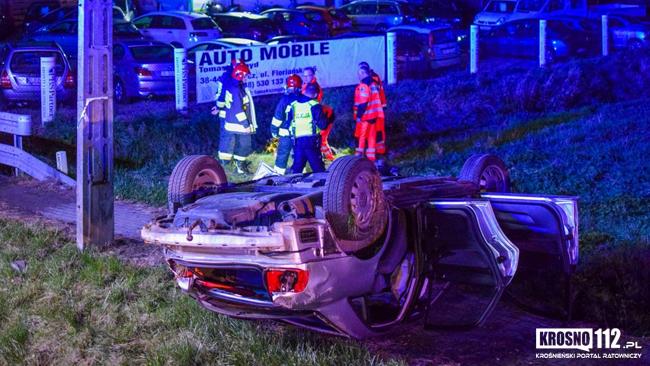 Śmiertelny wypadek na DK28. Nie żyje 19-latek