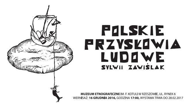 Polskie przysłowia ludowe na wystawie w rzeszowskim muzeum etnograficznym