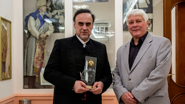 Marek Wiatr laureatem prestiżowych nagród