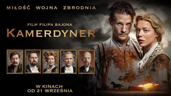 """""""Kamerdyner"""" - najnowszy film Filipa Bajona w kinie Helios"""