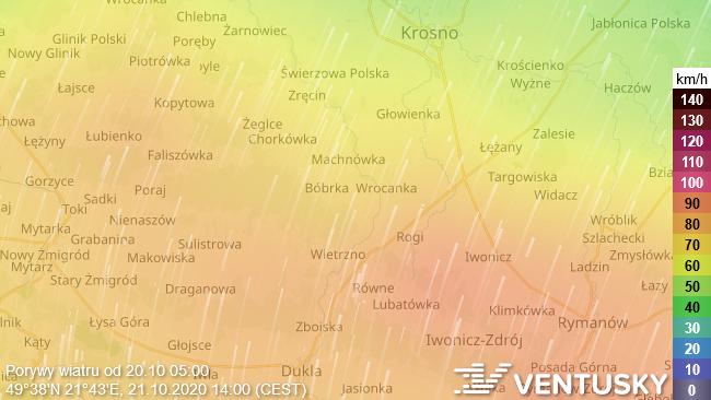 Ostrzeżenie meteorologiczne przed silnym wiatrem. W środę miejscami porywy do 80 km/h!