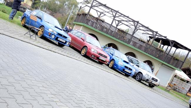 I Zlot Subaru w Krośnie dobiegł końca