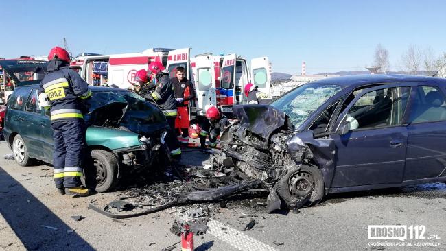 Śmiertelny wypadek w Krośnie. Zginęły dwie osoby