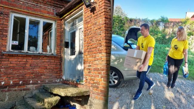 Wolontariusze Polski 2050 z pomocą dla krośnieńskiej Kociarni