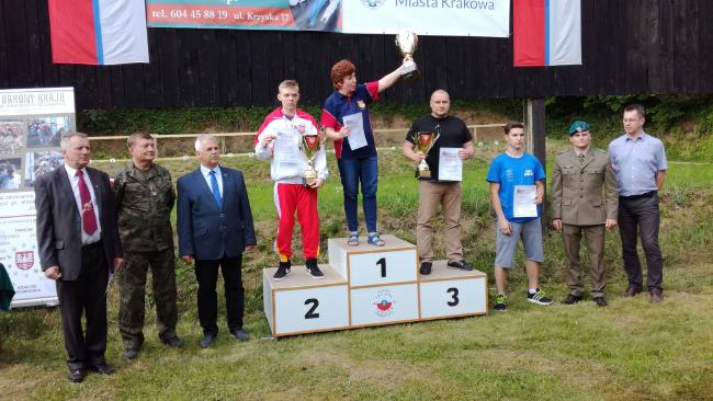 Trzy medale w strzeleckich Mistrzostwach Polski LOK