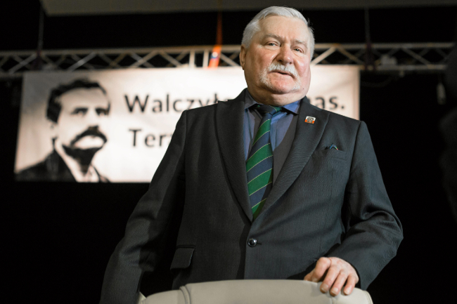 Lech Wałęsa przyjedzie do Krosna