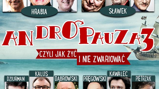 """Spektakl """"Andropauza 3"""" w Filharmonii Podkarpackiej"""