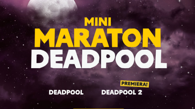 Mini Maraton DEADPOOL w kinie Helios!