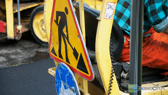 Remont i zamknięcie drogi w Iskrzyni