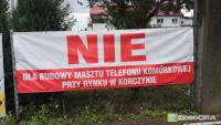 """Nadajnik sieci Play ma powstać przy Rynku w Korczynie. Mieszkańcy mówią: """"NIE"""""""