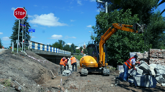 DK19: Remont mostu na Lubatówce