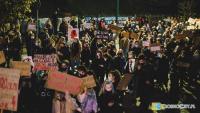 Human Rights, do kogo należą prawa? Protest kobiet w Krośnie w sprawie wyroku TK