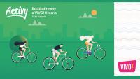 Bądź Aktywny! VIVO Krosno nagradza rowerzystów