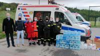 Policjant inicjatorem akcji wspierającej ratowników w walce z koronawirusem