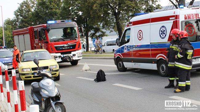68-latek trafił do szpitala. Kto zawinił?