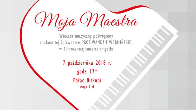 """Moja Maestra"" - koncert w murach Muzeum"