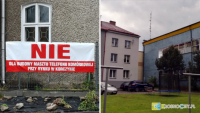 Mieszkańcy Korczyny protestują przeciwko budowie masztu telefonii komórkowej