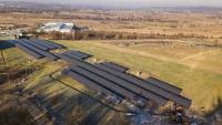Po dawnym składowisku odpadów powstała farma fotowoltaiczna