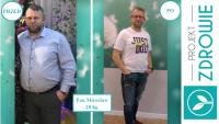 Pan Mirosław schudł 20 kg w Projekt Zdrowie!