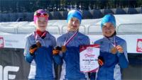 Medale zawodniczek IKN Górnik Iwonicz-Zdrój w Mistrzostwach Polski w biathlonie!
