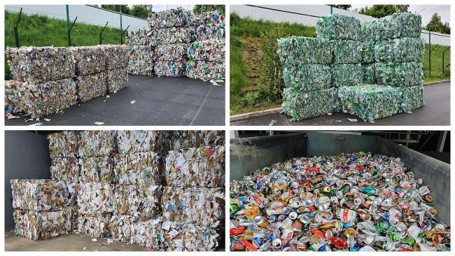 W MPGK odzyskano ponad 1400 ton różnego rodzaju odpadów
